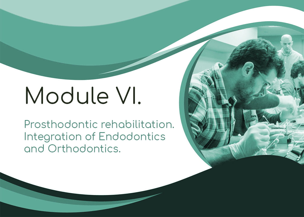 Module 6  Prosthodontic rehabilitation  Integration of